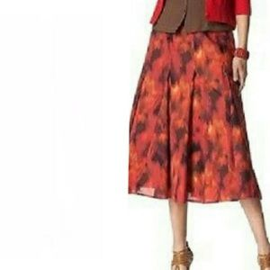Coldwater Creek Women's Burnout Boho Skirt